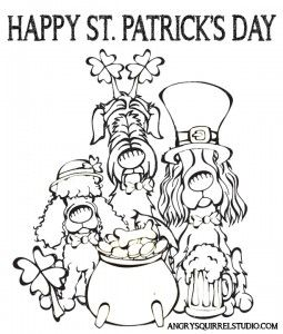 stpatricksday2013COLORINGPAGEv2 Coloring pages