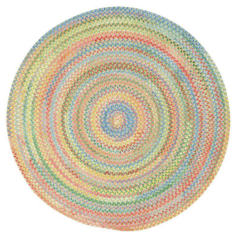 Beautiful Round Braided Chair Pad   0450CS0015240