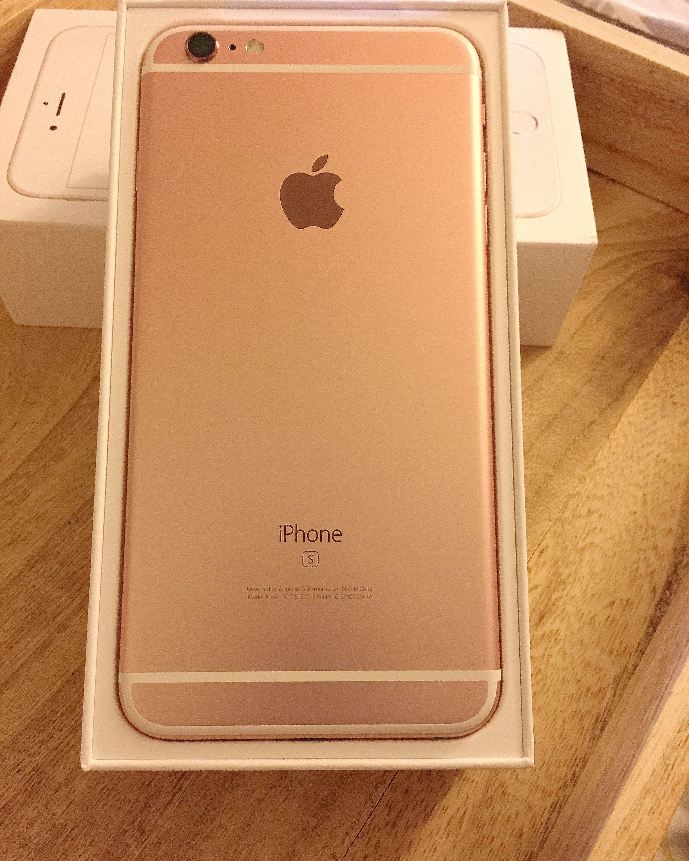 iphone 6s plus rose gold tech pinterest rose gold and apples. Black Bedroom Furniture Sets. Home Design Ideas