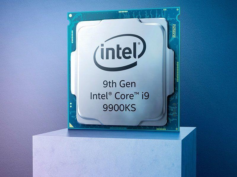 الإعلان عن معالج Intel Core I9 9900ks الأفضل في العالم للألعاب Intel Core Intel Best Gaming Cpu