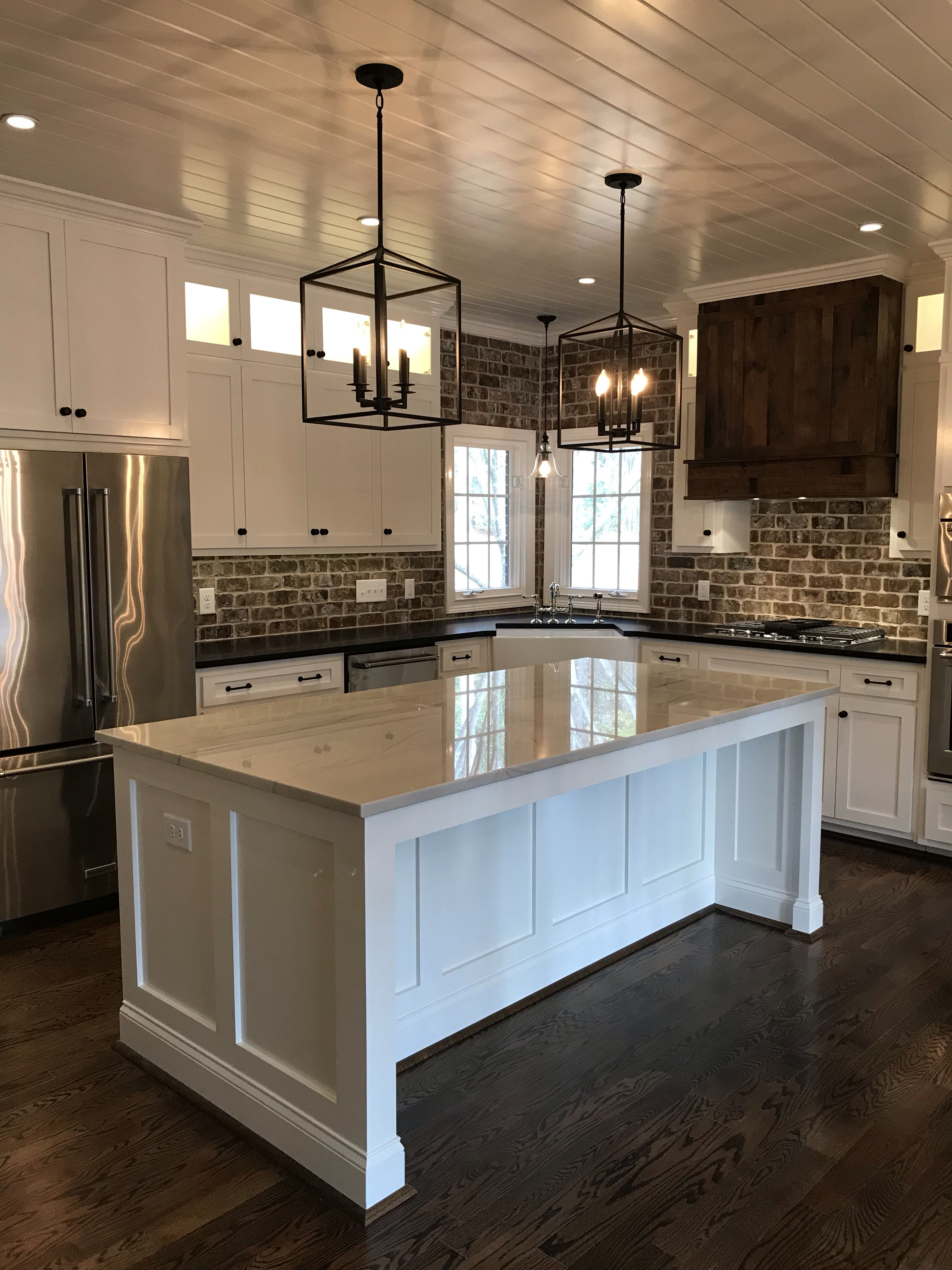 Leary Brown Builders White Kitchen Design