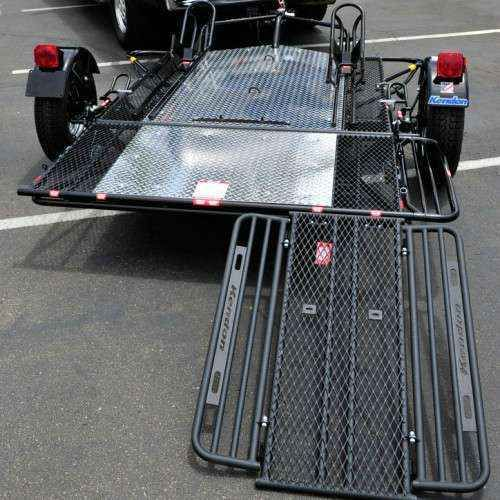 new 2016 kendon dual rail ride up folding trailer atvs for sale in rh pinterest com 4 Pin Trailer Wiring Diagram 6 Pin Trailer Wiring Diagram