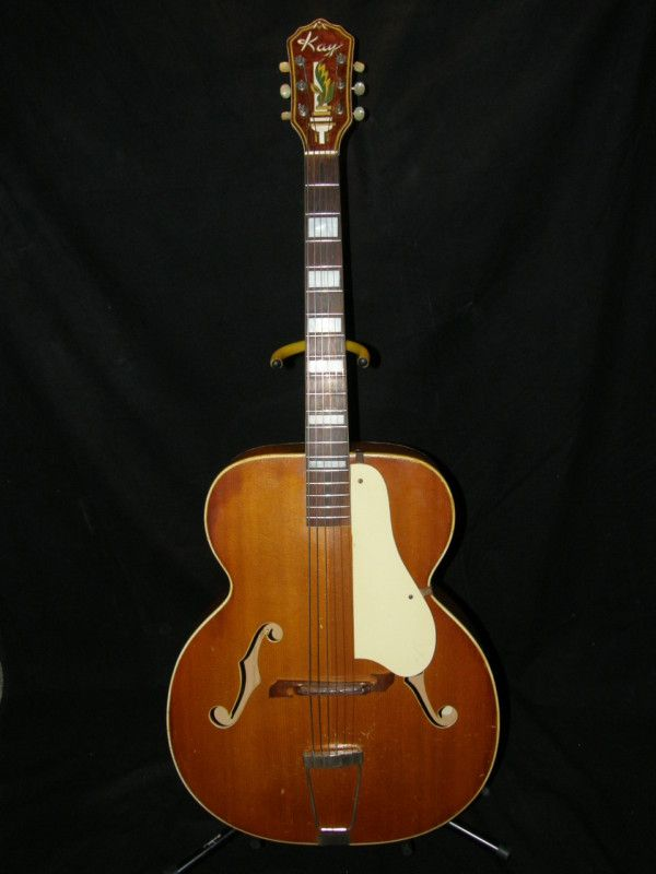 Early 50 S Kay Archtop Acoustic Guitar Amazing Sound Low Action Model K44 Archtop Acoustic Guitar Guitar Vintage Electric Guitars