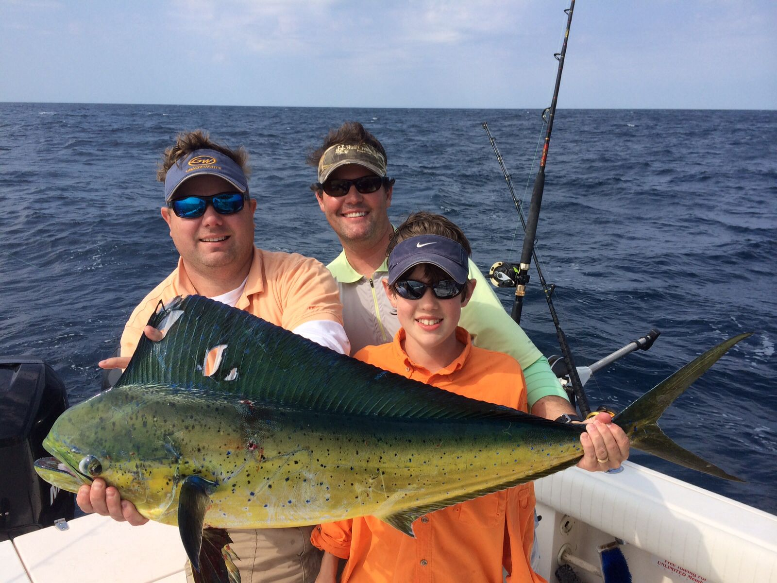 Offs Fishing Out Of Edisto Island