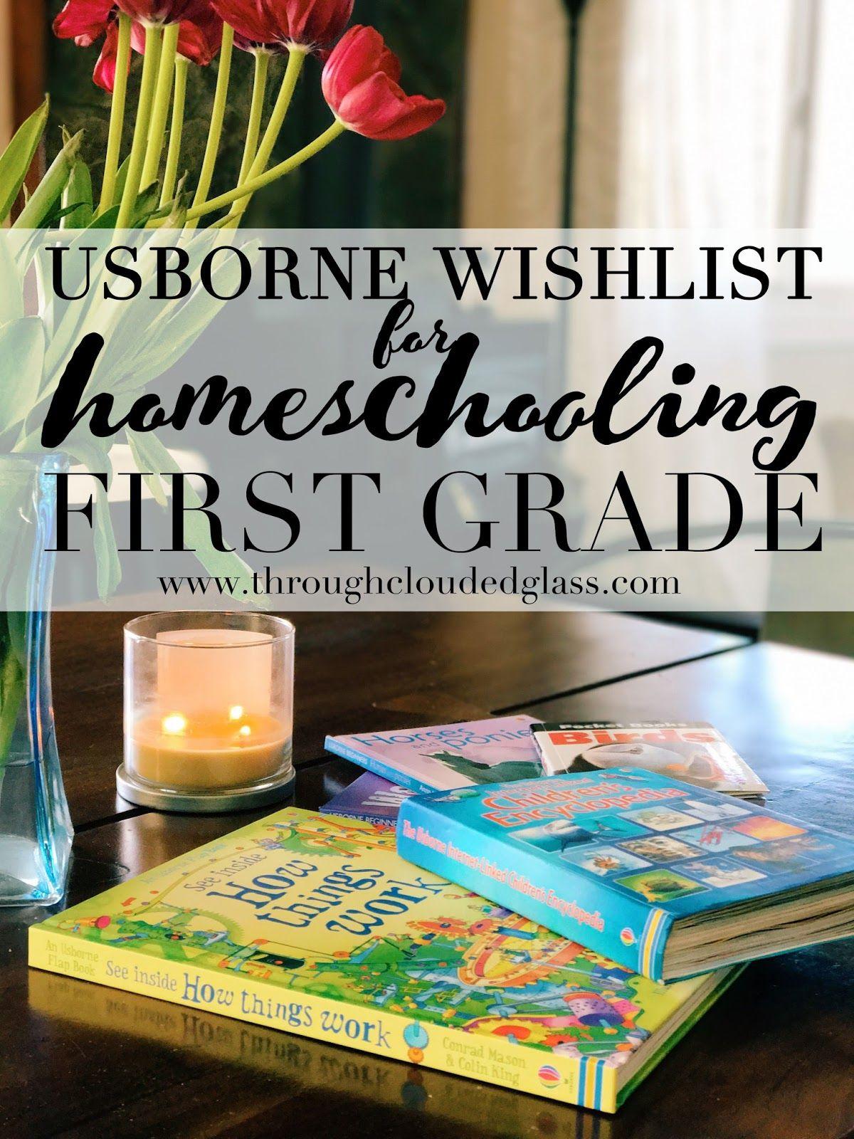A Homeschool Usborne Book Wishlist (First Grade) Usborne