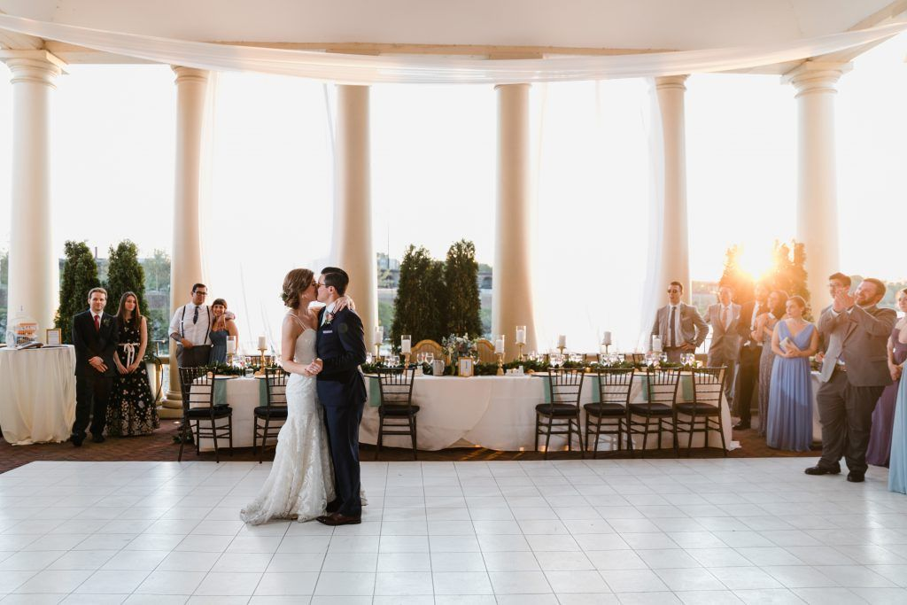 Spring Wedding At Philadelphia Water Works With On Dance Floor Photo By Love Me