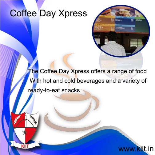 Kiit The Coffee Day Xpress Www Kiit In Eat Snacks Day Cold Drinks