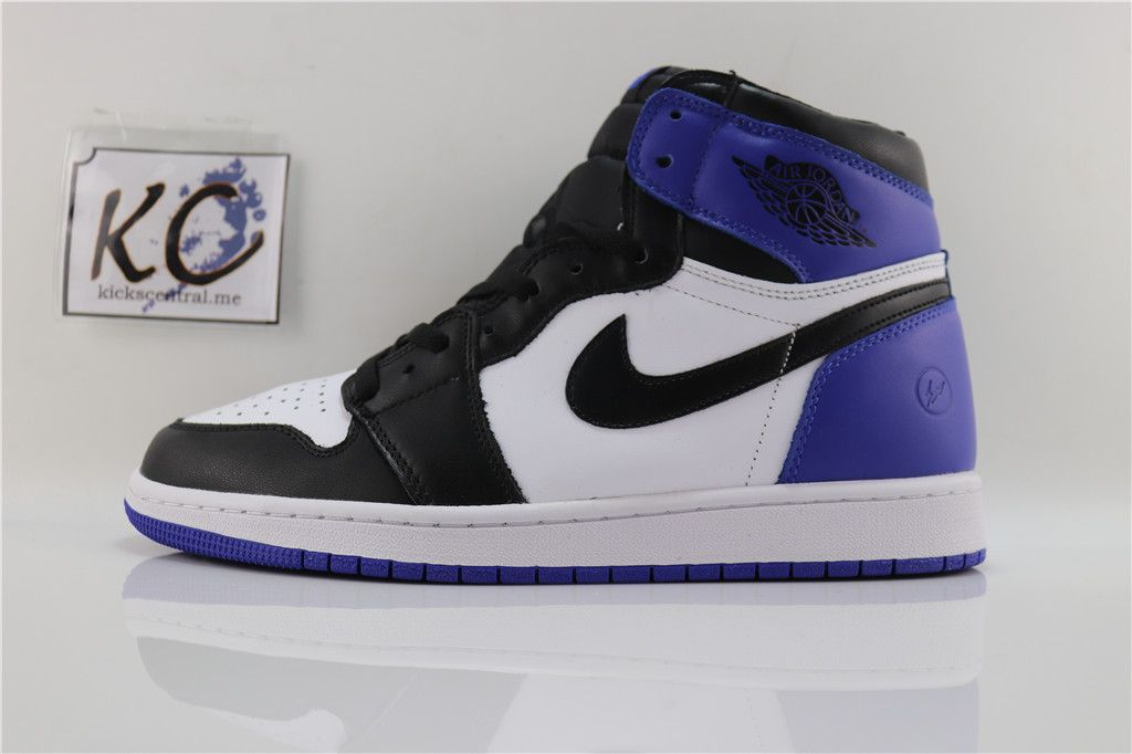 "d9dd338883a Fragment Design x Air Jordan 1 Retro ""Game Royal"" 716371-040 ..."