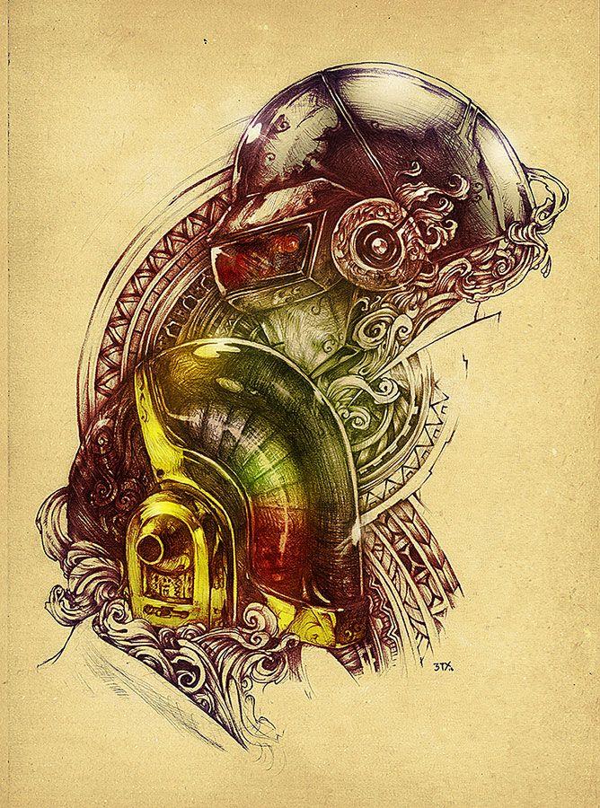 Amazing Illustrations by Lukas Brezak | Abduzeedo Design Inspiration ...