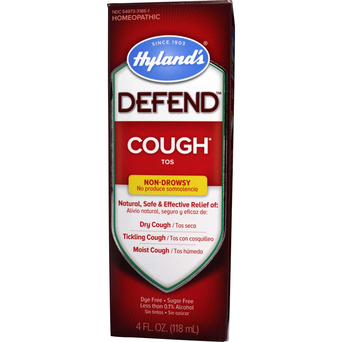 Defend Cough For Adults & Children Dry cough, Adult