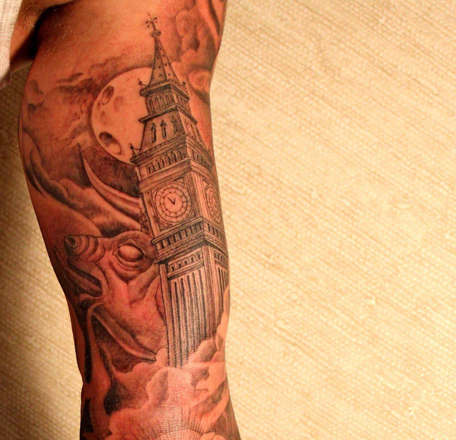 Big Ben | Tattoos | Pinterest
