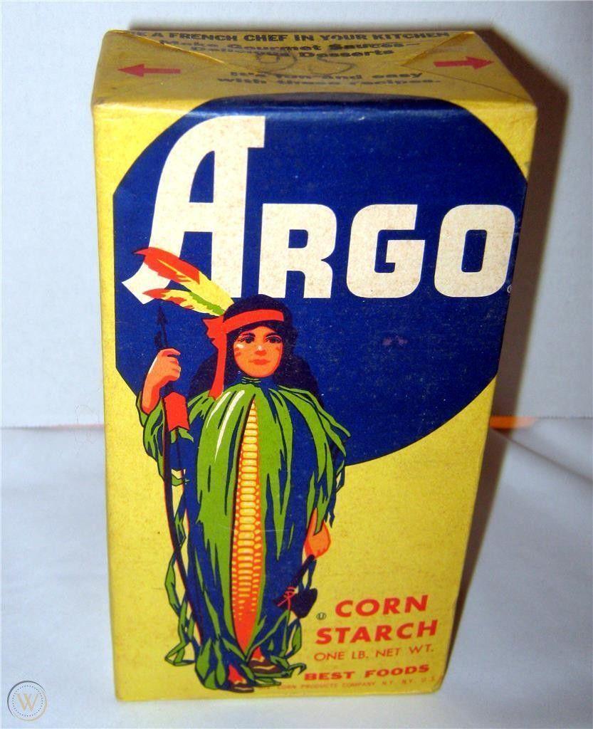 Argo Corn Starch Vintage Corn Starch Food Net Argo