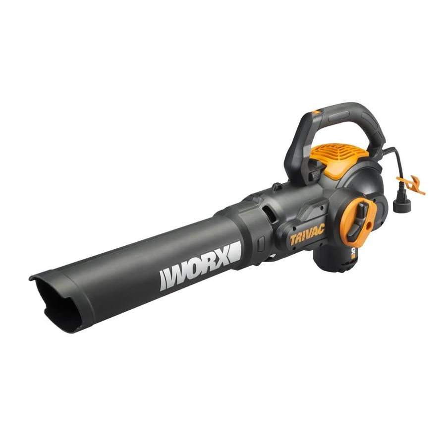 Worx Trivac 600 Cfm 70 Mph Vacuum Kit Only 39 50 Edeal Info In 2020 Electric Leaf Blowers Blowers Electricity