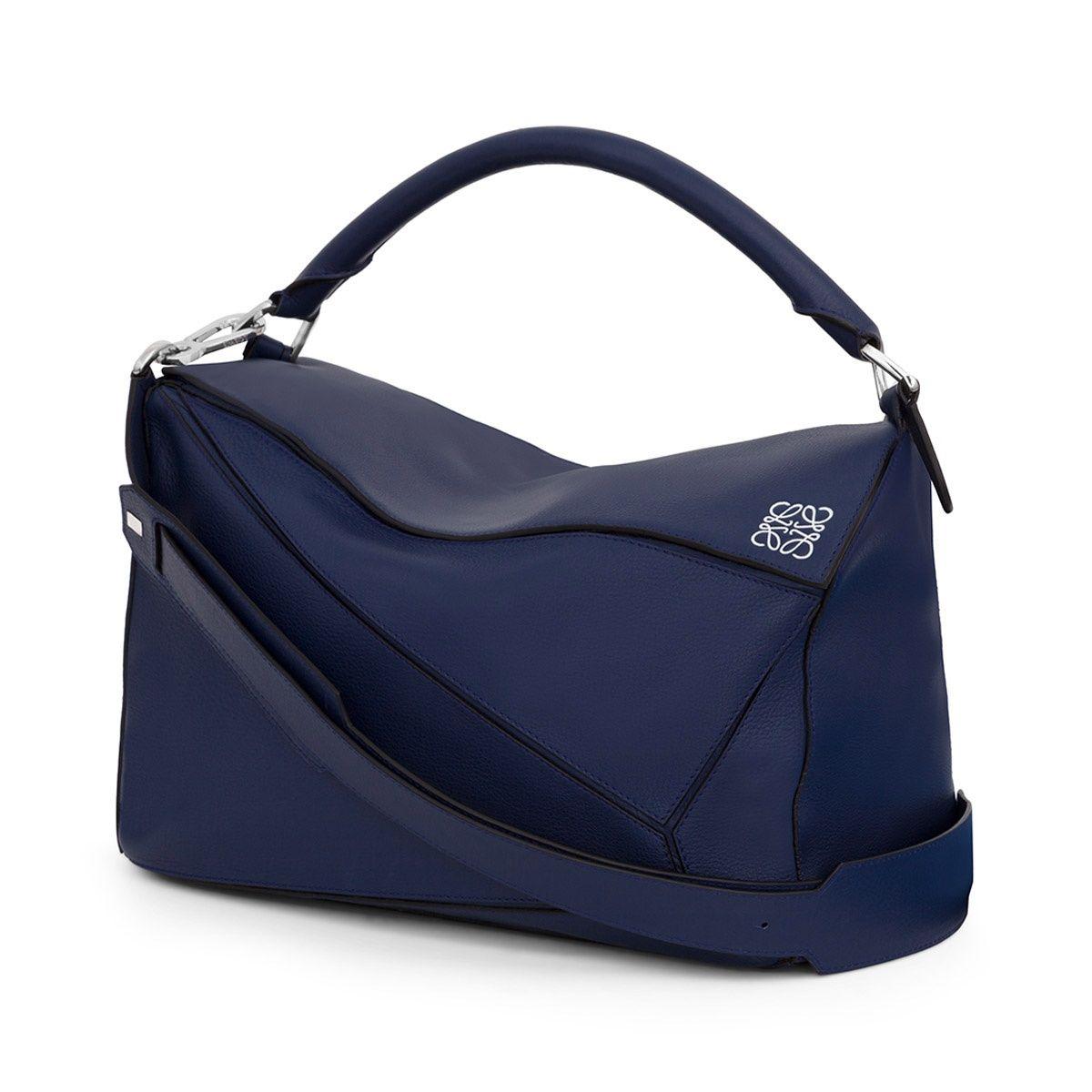 Top Handle Handbag On Sale, Blue Marine, Leather, 2017, one size Loewe
