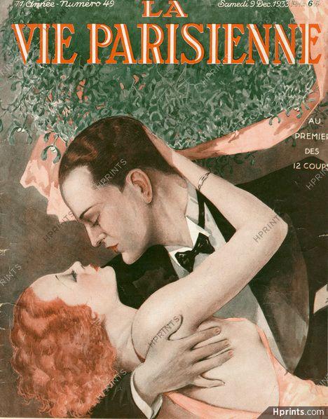 Georges Léonnec 1933 La Vie Parisienne cover