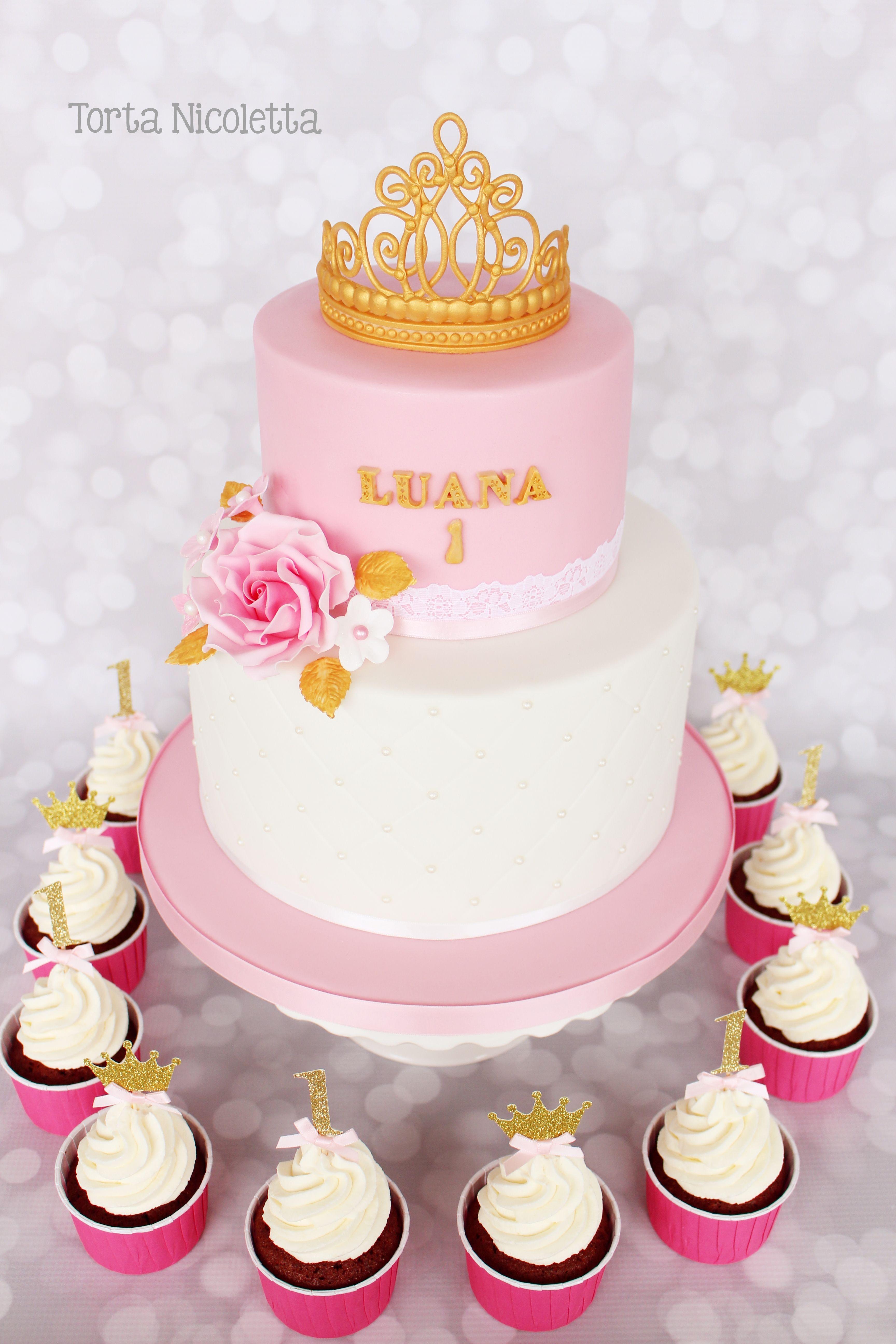 Tiara Cake And Cupcakes