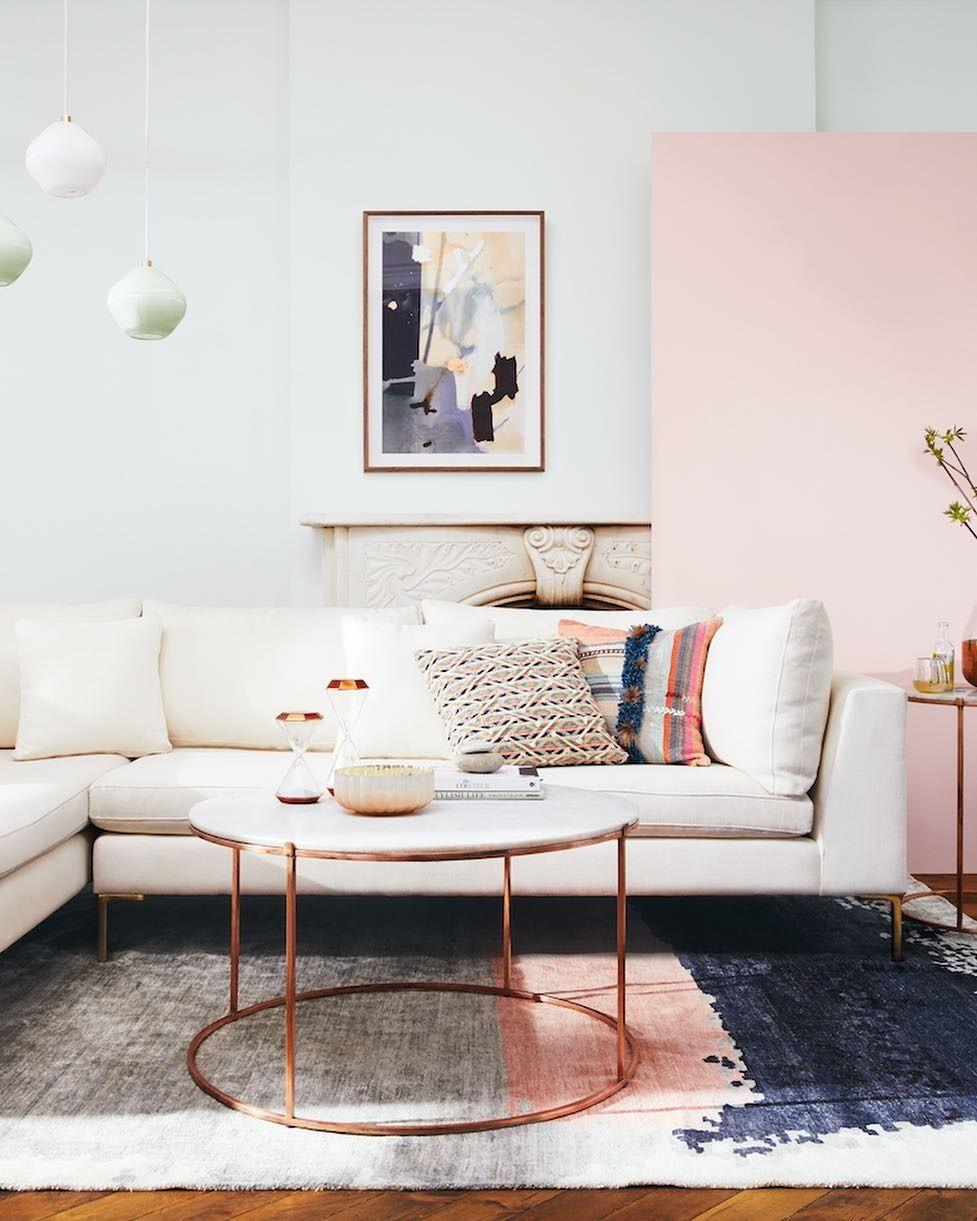 Clean lines & classic neutrals meet their match: rich texture, bold ...