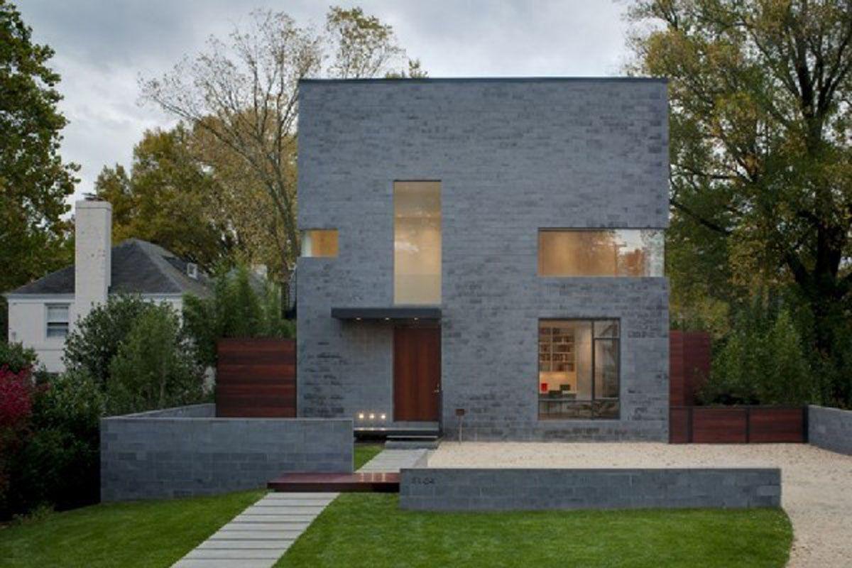 Cool Unique Home Designs Guardian Cinder Block House Small House Design Concrete House