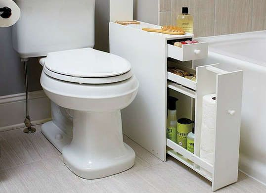 10 Smart Storage Tricks for a Tiny Bathroom images