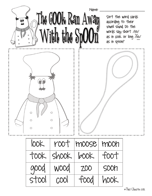 Nonsense Words, Compound Words and Spring Things