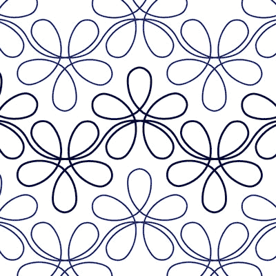 Free Digital Longarm Quilting Patterns : Flower Child - Digital - Quilts Complete - Continuous Line Quilting Patterns Quilting ...