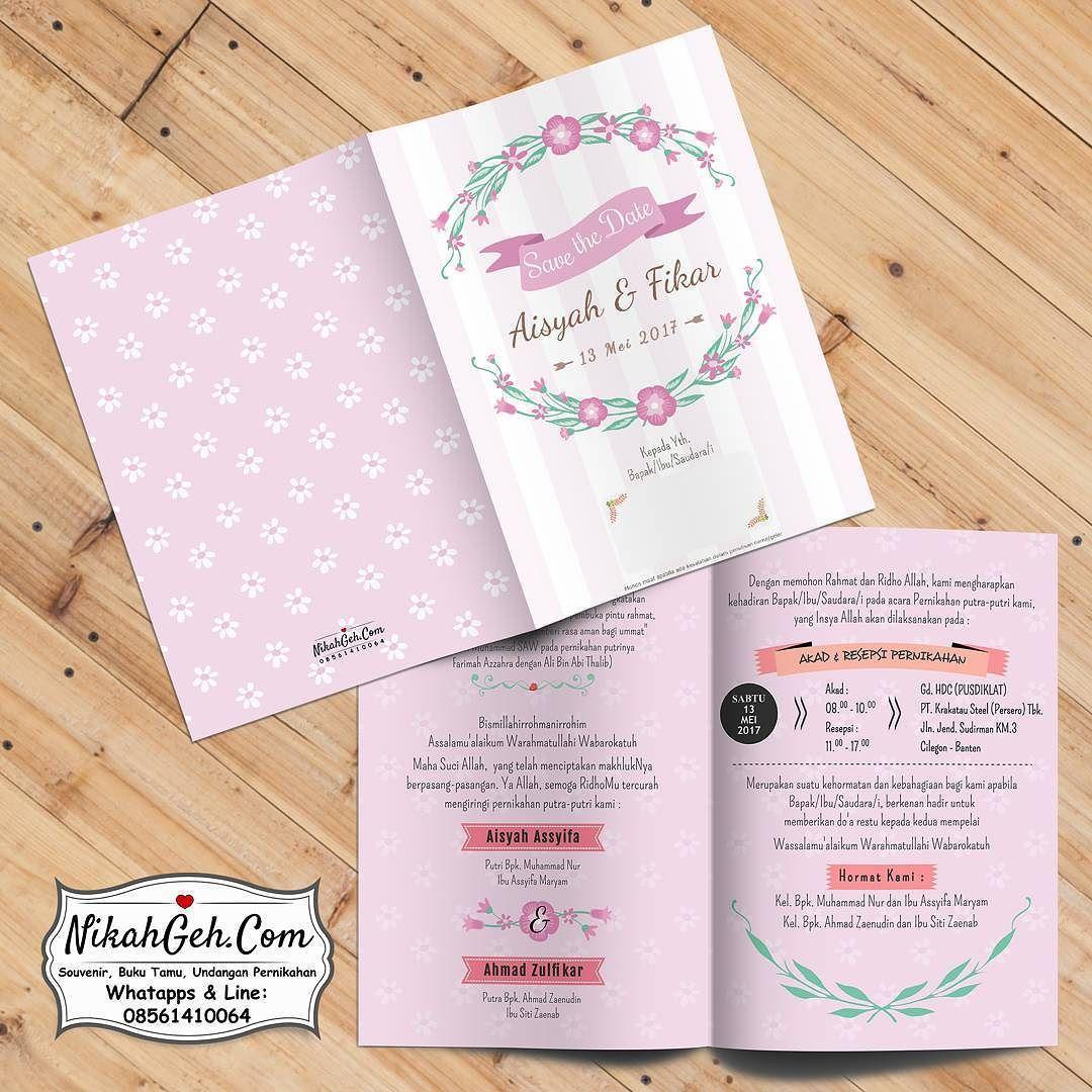 Https Nikahgeh Com Undangan Pernikahan Soft Cover Full Colour Laminasi Dof Bolak Balik Kertas Paling Tebal Undangan Pernikahan Kartu Pernikahan Undangan