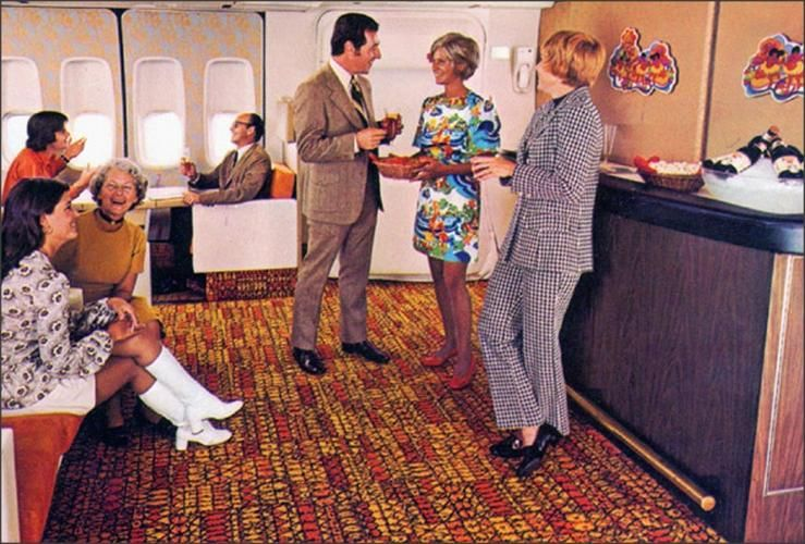 What It Was Really Like To Fly During The Golden Age Of Travel