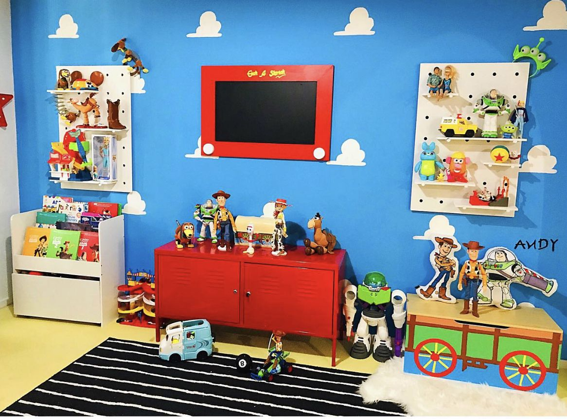 Our Daughters Toy Story Playroom Diy S And Hacks By Mummy And