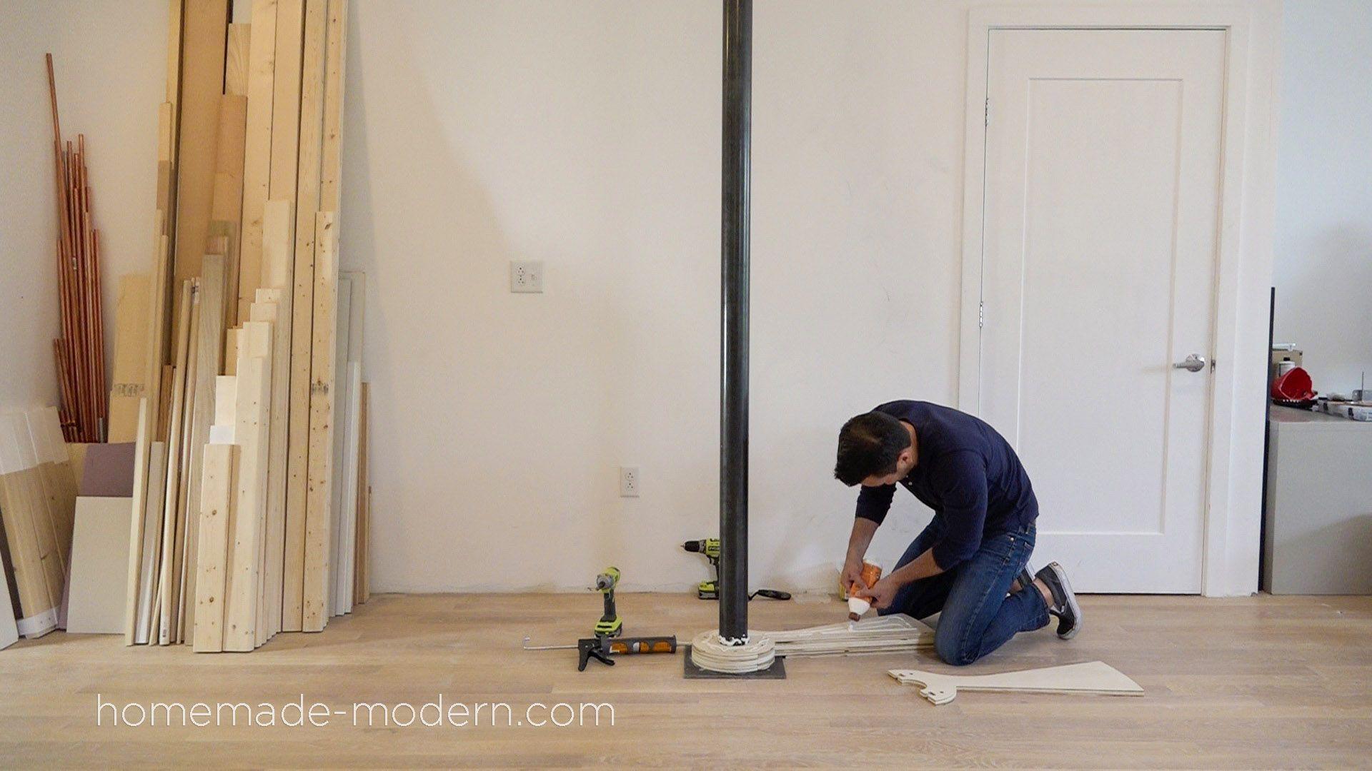 Best Homemade Modern Diy Ep99 Diy Cnc Spiral Staircase Σκάλες 640 x 480