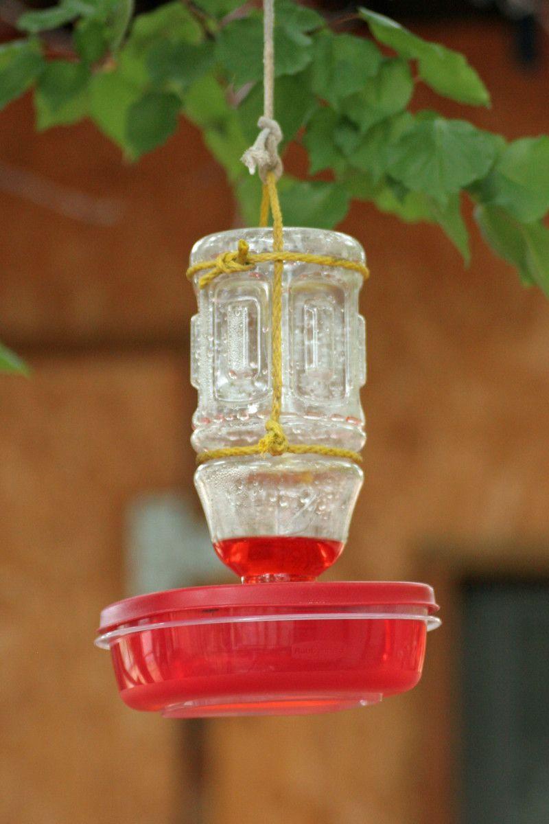 16 DIY Homemade Hummingbird Feeder Ideas to Attract Them