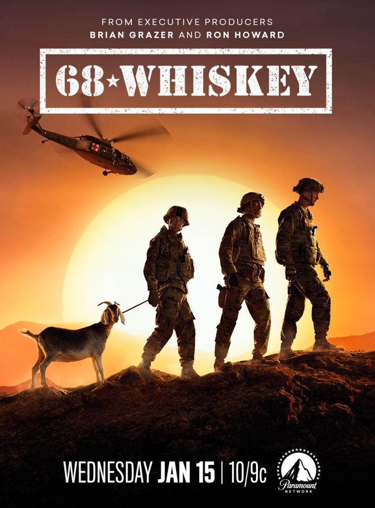 68 Whiskey Trailer Premiere Date For Brian Grazer And Ron Howard S Afghanistan Set Military Dramedy On Paramount Network Ron Howard Brian Grazer Army Medic