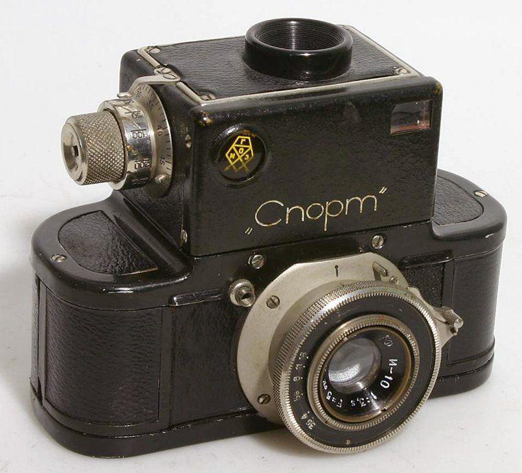 советский зеркальный фотоаппарат спорт подробную информацию этих