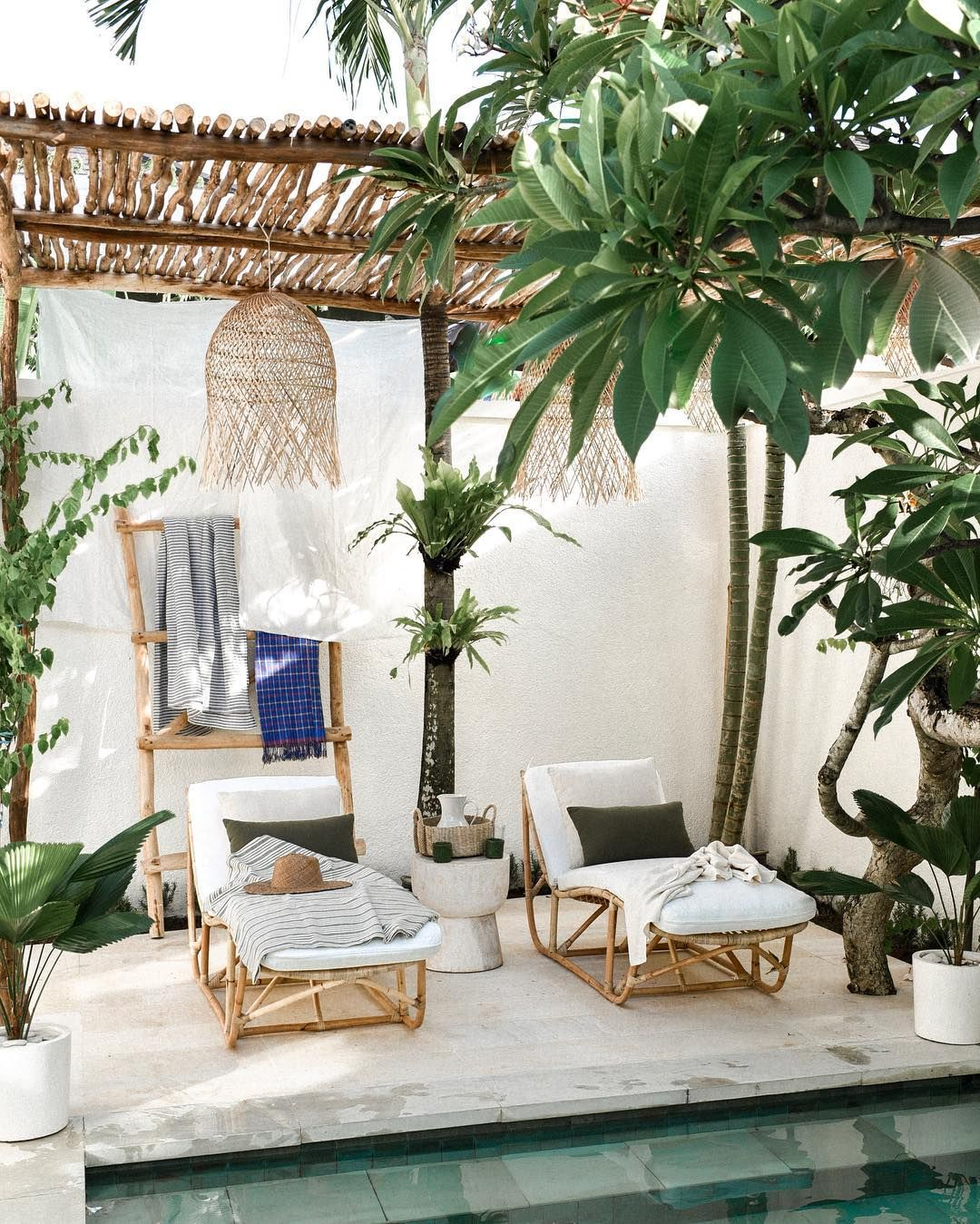 Our Editors Were Dreaming Of Tropical Escapes This Week Including This Dreamy Spot In Bali See More In The Insta F Bali Decor Bali House My Scandinavian Home
