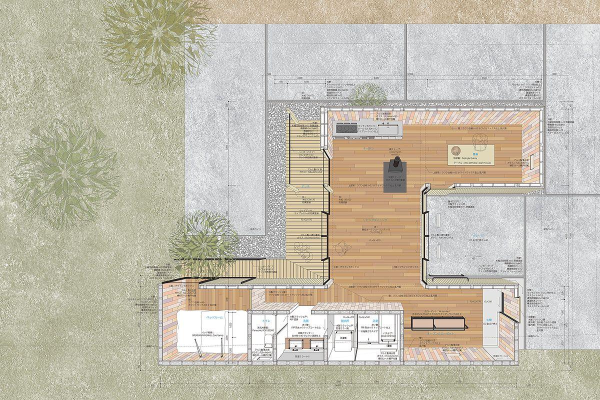 JP architects qilin house designboom