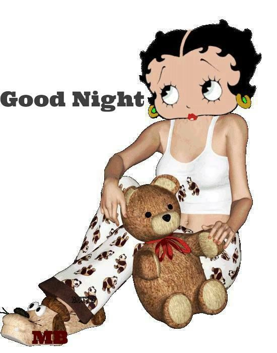 Good Night Betty Boop Pictures Betty Boop Quotes Black Betty Boop
