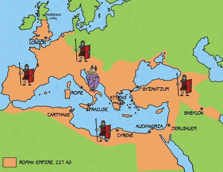Related Image Ancient Rome Lessons Pinterest - Rome map cartoon