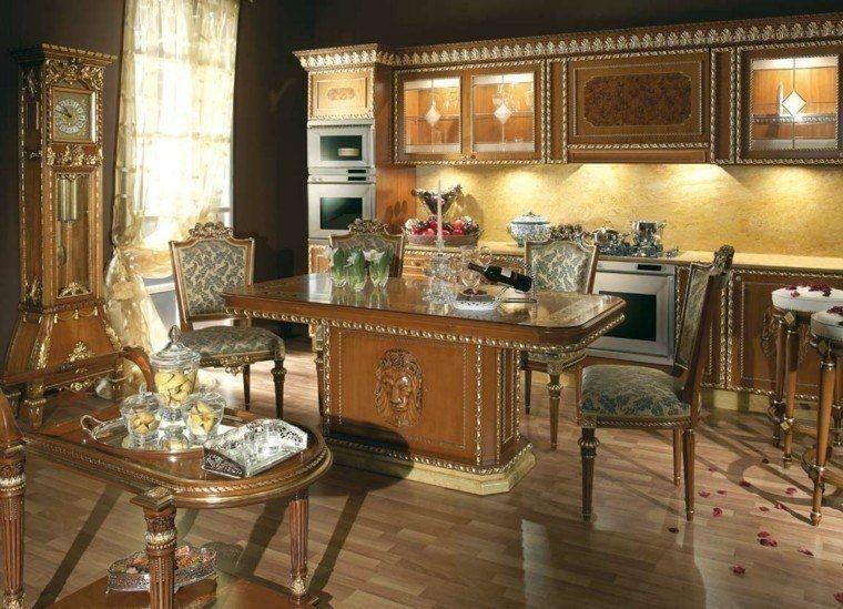 Perfecto Moderna Galería Retro Cocina Ideas Ornamento Elaboración ...