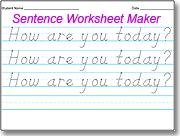 Amazing D\'Nealian Handwriting Worksheet Maker -This website is ...