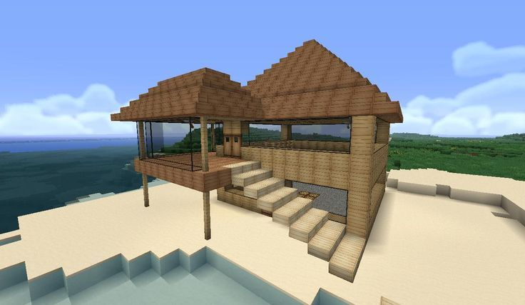 minecraft easy to build modern house google search