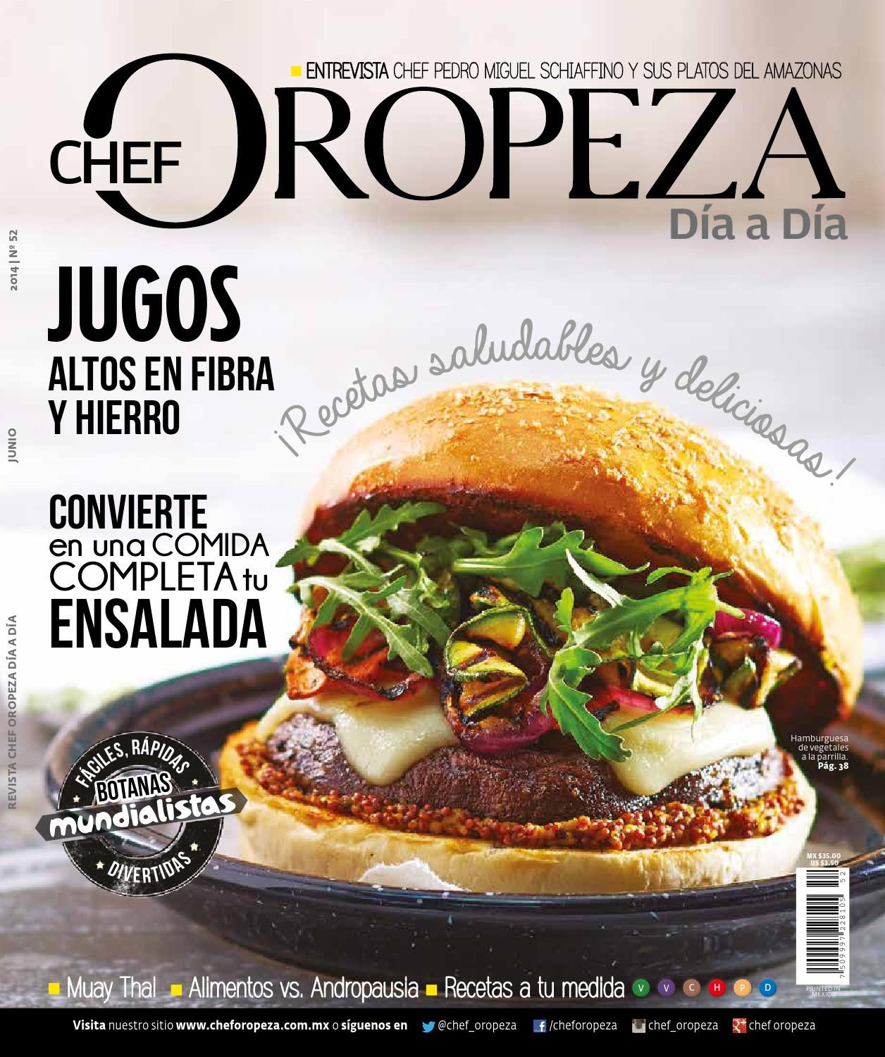 No 52 Junio 2014 Food Cooking Healthy Recipes