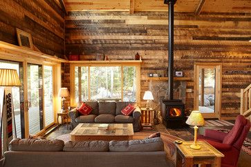 Traditional Living Room Decorating Ideas | Rough Cut Lumber Design ...