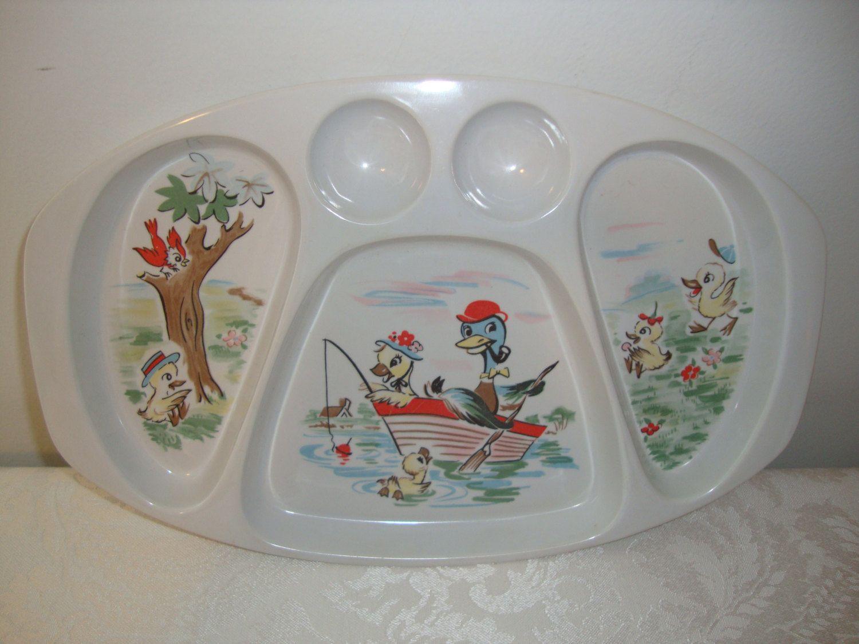 Vintage Noritake Melamine Wear Melmac Childrens Plate Noritake Vintage Melamine