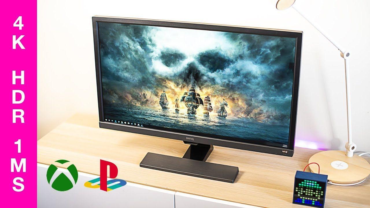 BenQ EL2870U 4K HDR Gaming Monitor REVIEW | Daddy's Toys | Ipad