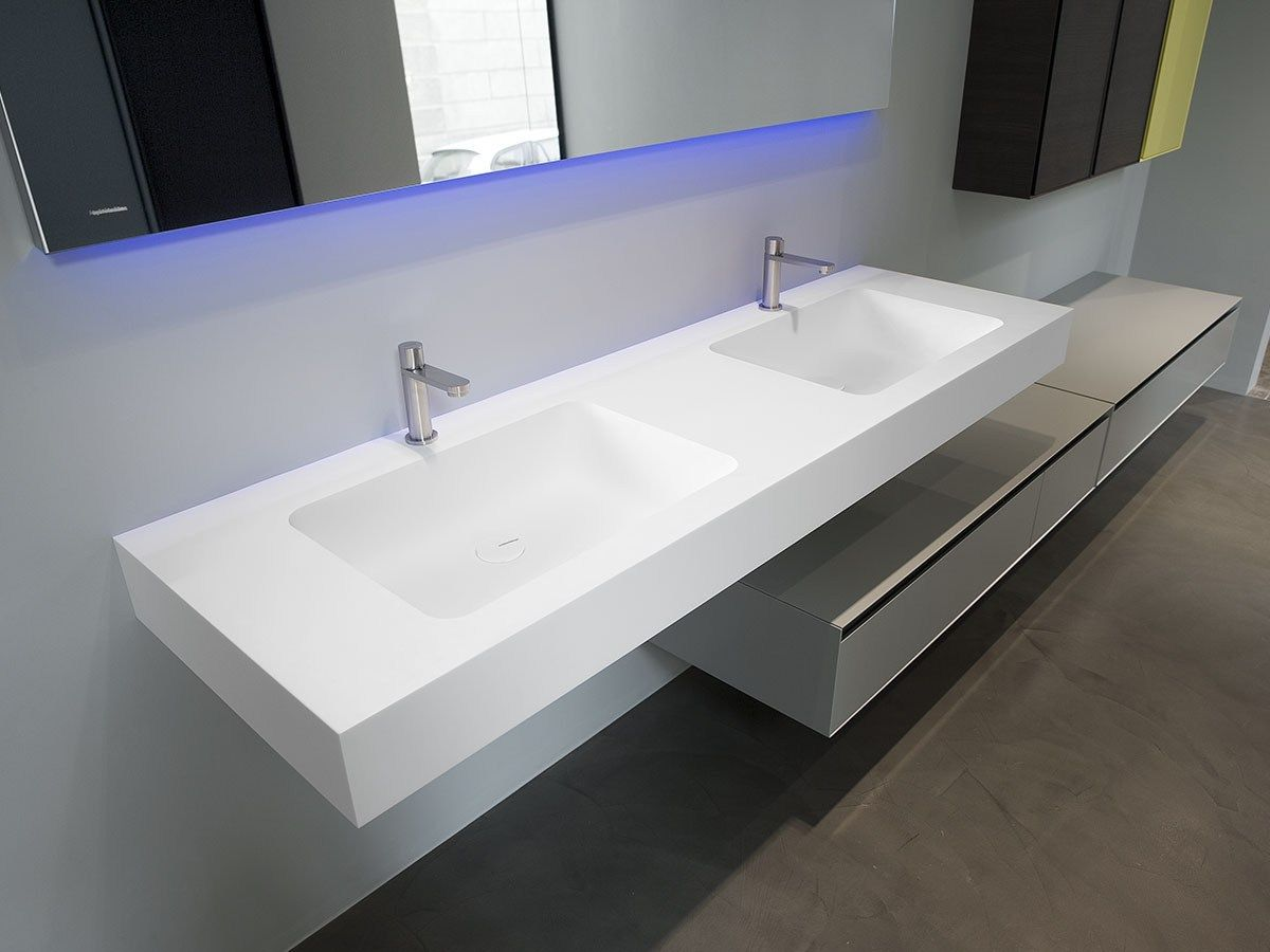 Corian Bad Plan De Toilette En Corian Arco By Antonio Lupi Design