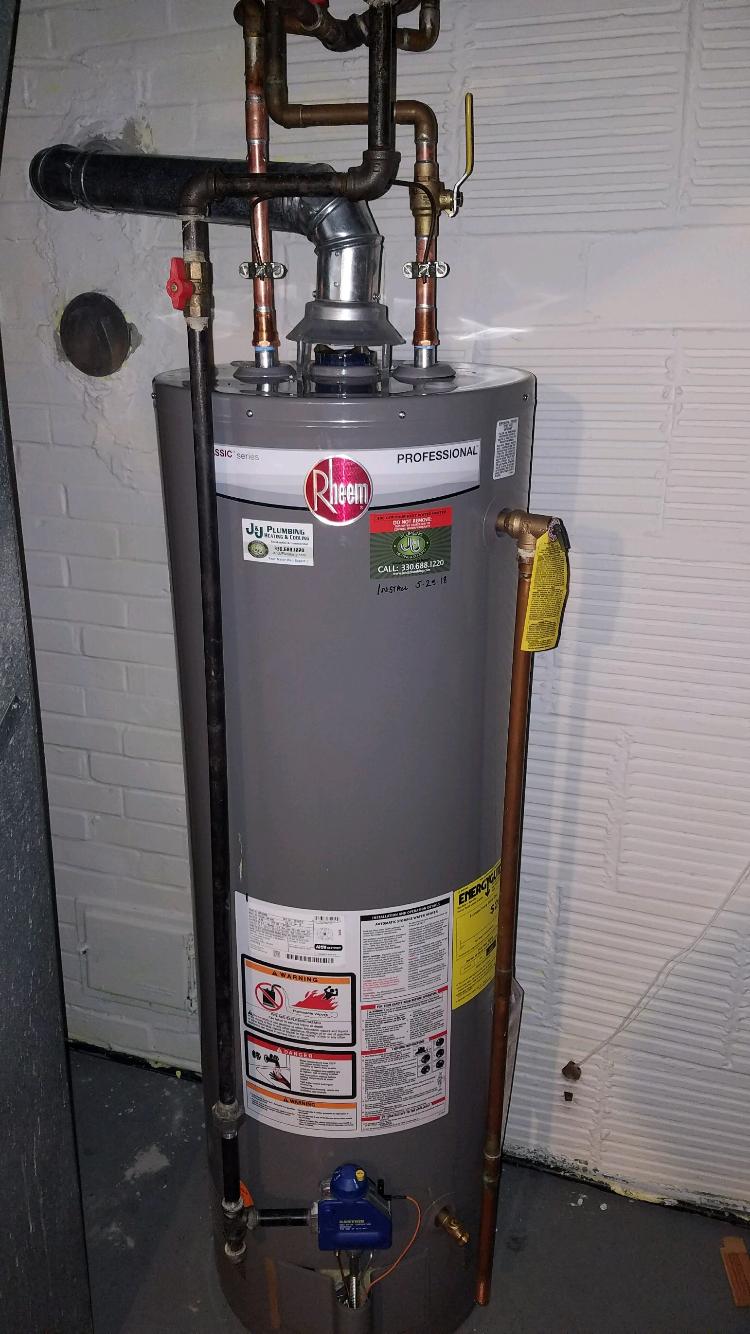 Waterheater Install By J J Plumbing Your Local Plumbing Heating
