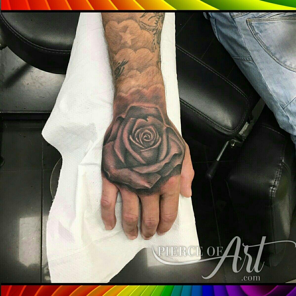Rose Hand Tattoo Tattoo Ideas Pinterest Tatuajes Brazo