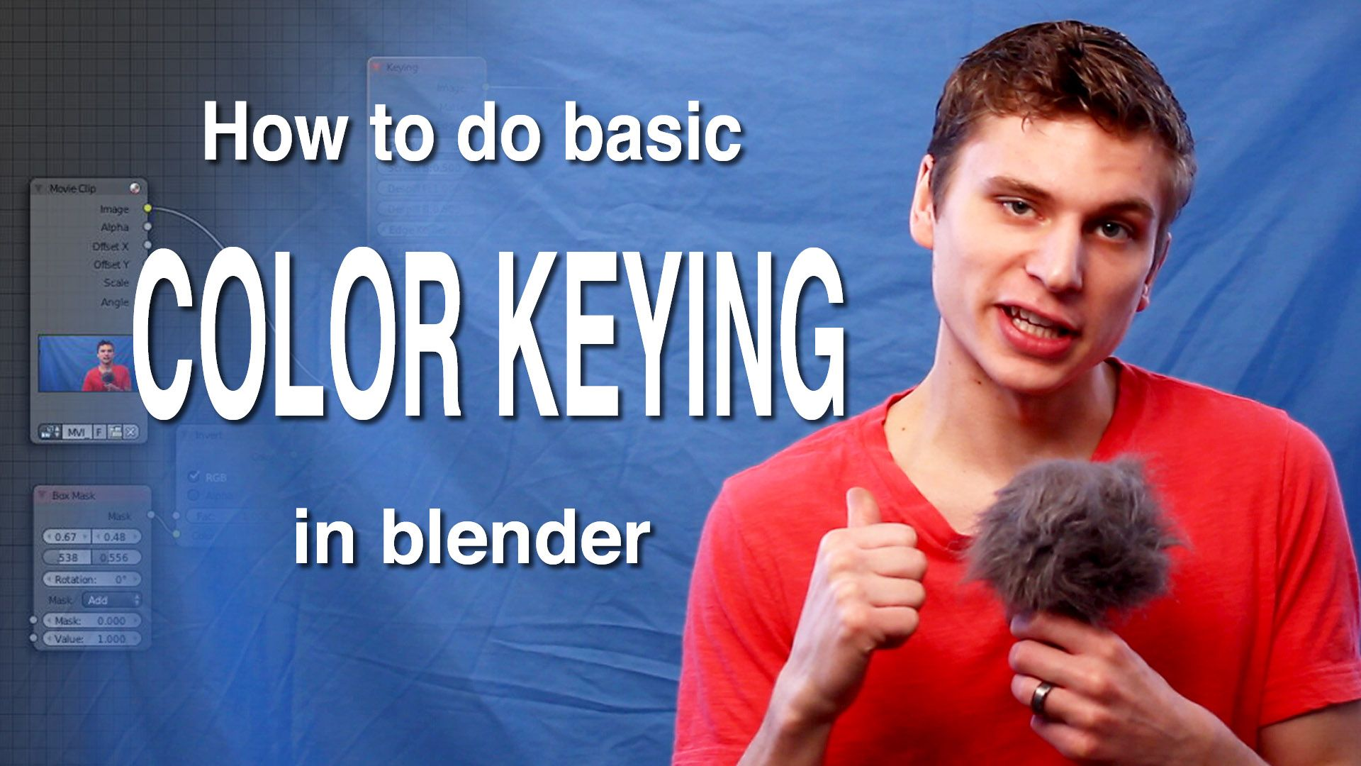 Blender VFX Tutorial: Basic color keying | Blender | Vfx