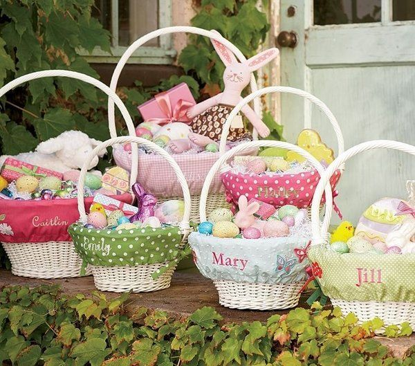 Cute easter baskets children adults easter egg hunt ideas candy cute easter baskets children adults easter egg hunt ideas negle Image collections