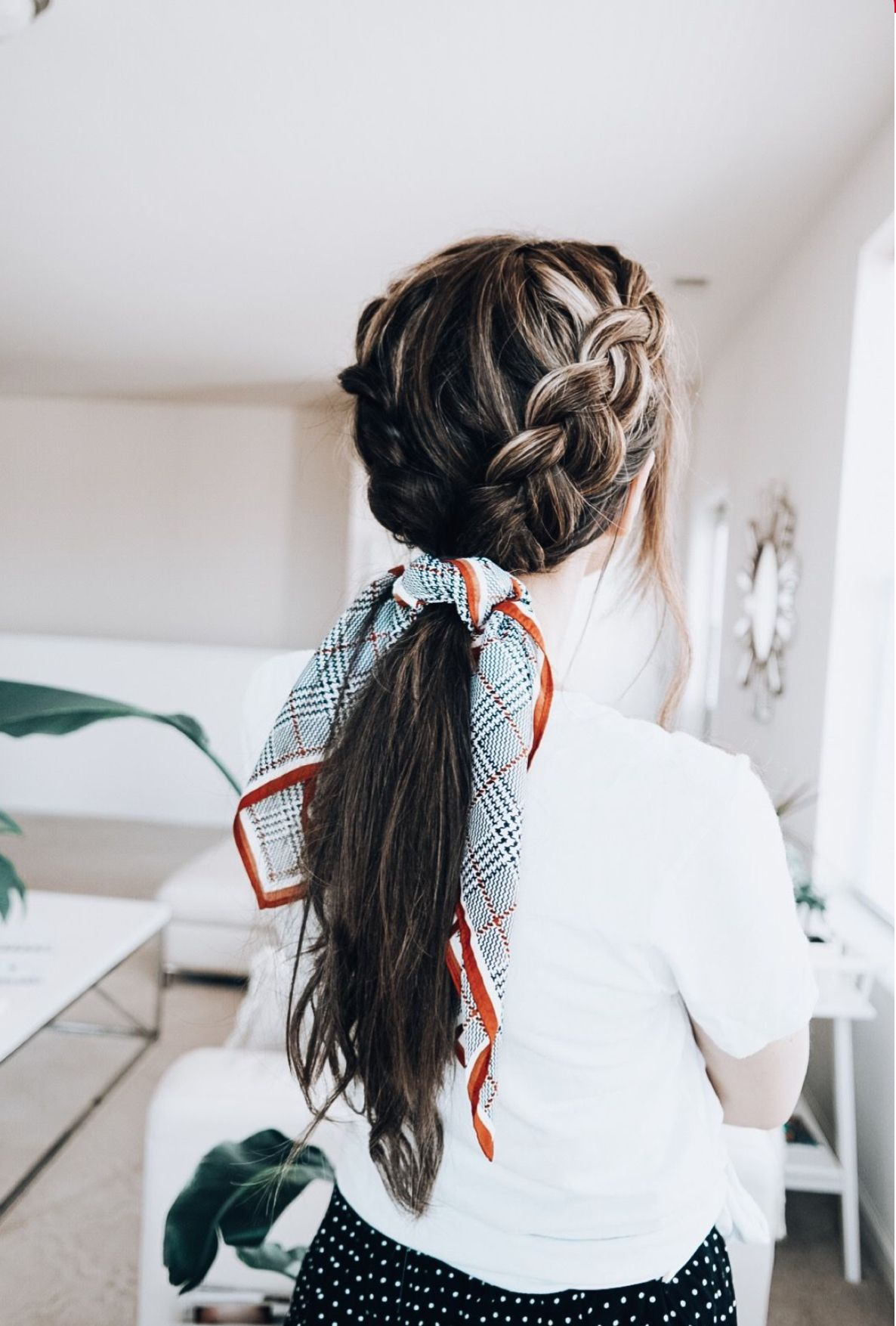Hair Hairstyles Scarf Hairstyles Hair Lengths Long Hair Styles