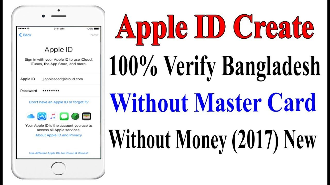 Apple ID Create Without Master Card । Apps Download iphone
